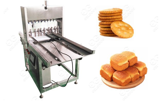 Bakery Biscuit & Cake Oil Spraying Machine Factory Use For Sale