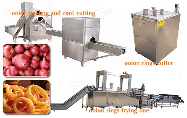 Automatic Onion Ring Process line|Fried Onion Rings Production Machine
