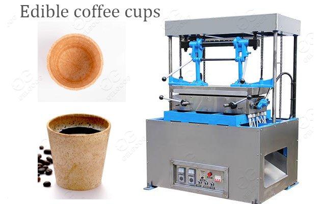 Wafer Edible Tea & Coffee Cups Machine Supplier