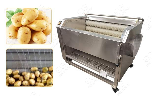 Business Use Potato Washing Peeling Machine On Sale