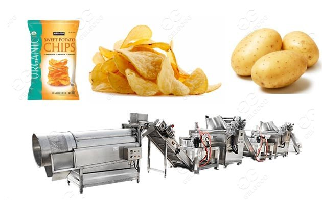 Fully Automatic Potato chips Manufacturing Equipment Price