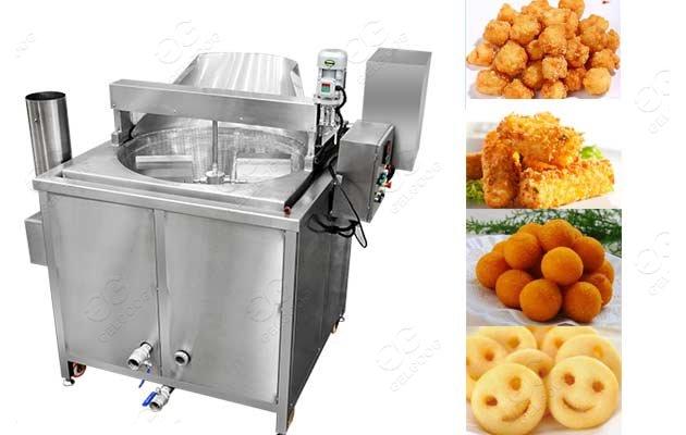 Stainless Steel Peanuts Snack Fryer|Namkeen Chips Round Fryer Machine