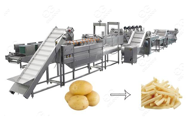 Automatic Frozen French Fries Production Line Factory Price