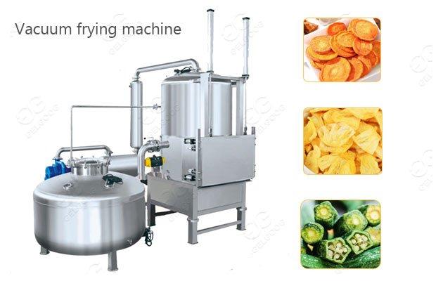 Low Temperature Jackfruit Vegetable Vacuum Frying Equipment For Sale