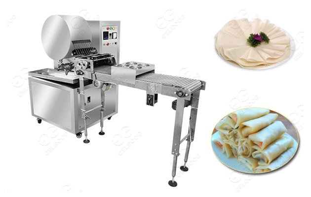 Stainless Steel Spring Roll Sheet Lumpia Wrapper Production Line