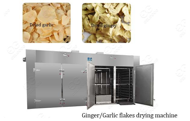 Commercial Dried Ginger Garlic Machine Ginger Drying Machine