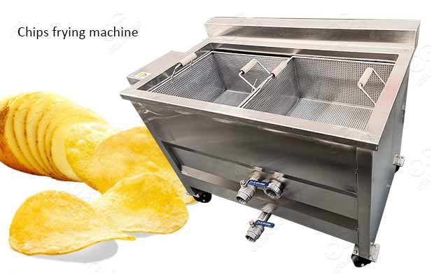 Commercial Snack Chips Deep Fryer With Baskets For Sale