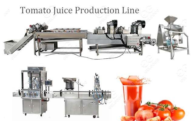 Tomato Juice Puree Production Line TurnKey Project