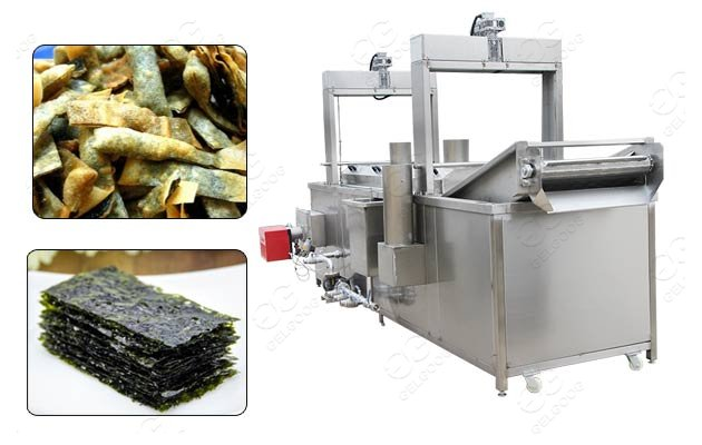Crispy Seaweed Snacks Automatic Frying Machine Price