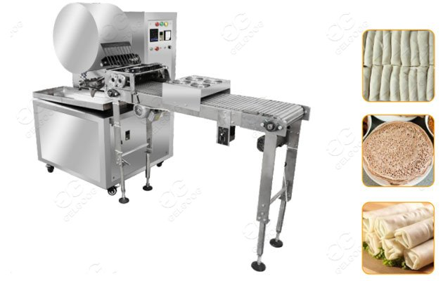 Industrial Lumpia Popiah Wrappers Making Machine Price