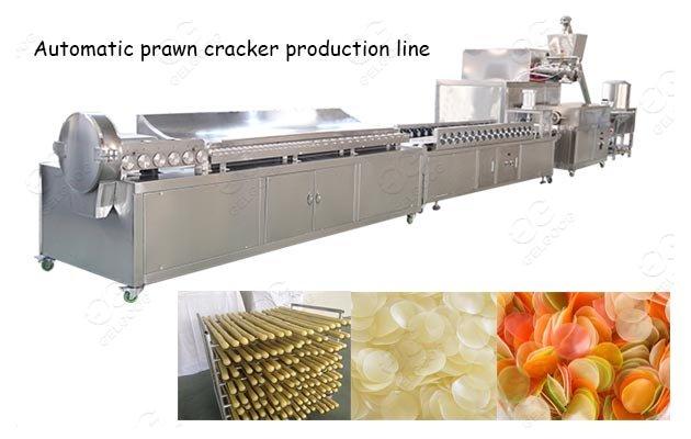 Prawn Cracker Making Machine 3D Pellet Chips Kerupuk Udang Production Line