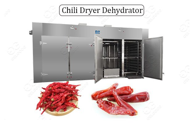 Industrial Chili Drying Pepper Dehydrator Machine On Sale
