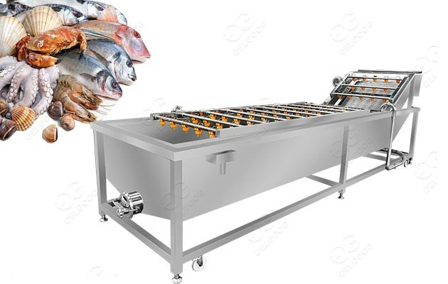 Fisheries Cleaning Equipment|Aquatic Seafood Washing Machine For Sale