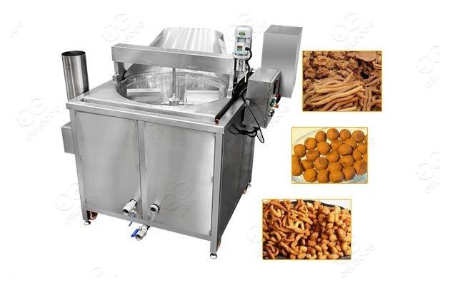 Round Fryer Kuli Kuli Machine|Nigerian Chin Chin Snacks Frying Machine