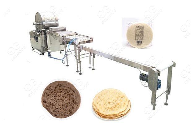 Commercial Injera Making Machine Continuous Enjera Equipment Price