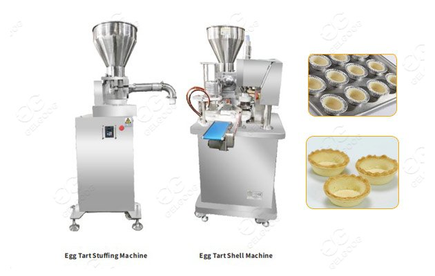 Continuous Egg Crust Tart Making Machine On Sale