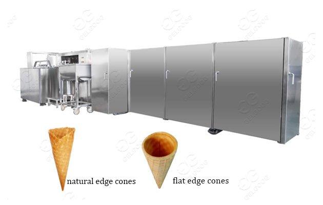 Ice Cream Waffle cone Production Line|Sugar cone s Baking machine