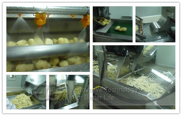 finger chips french fries machine