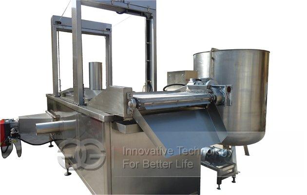 Nuts frying machine