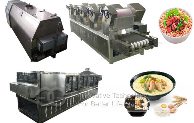 Non Fried Instant Noodles Production line