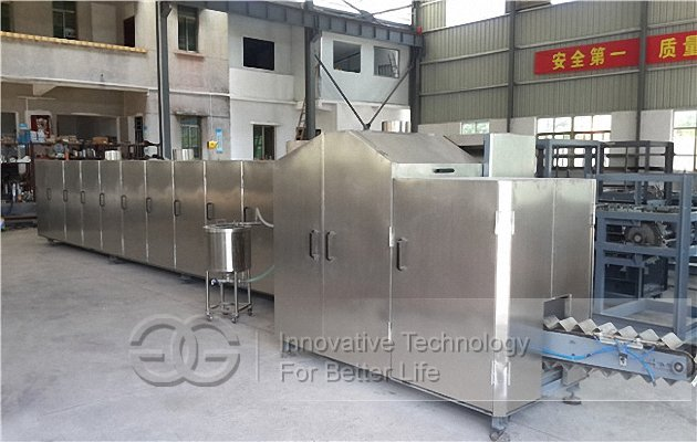 Waffle cone production line
