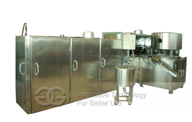 Automatic Crisp Bowl Shape Ice Cream Cup Making Machine