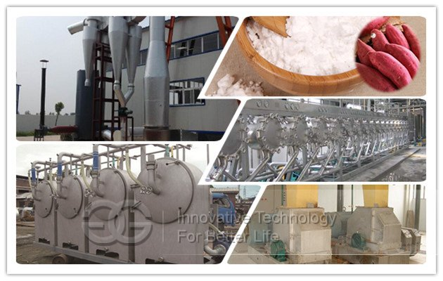 Price Sweet Potato Starch Production Plant