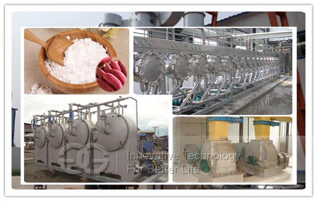 Sweet Potato Starch Production Plant Manufacturer
