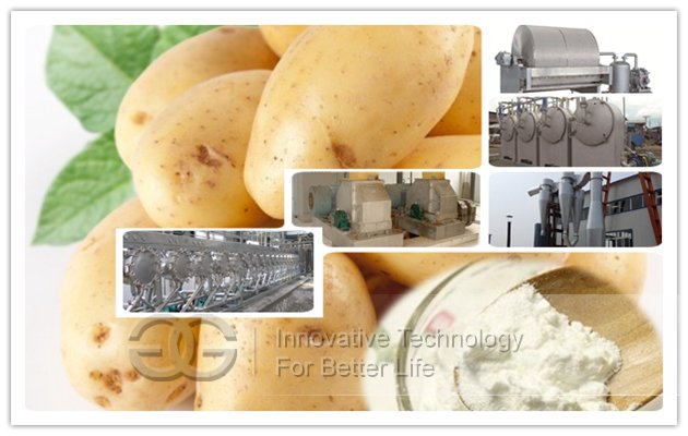 potato starch machine
