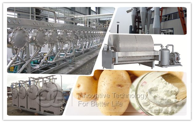 potato starch machinery