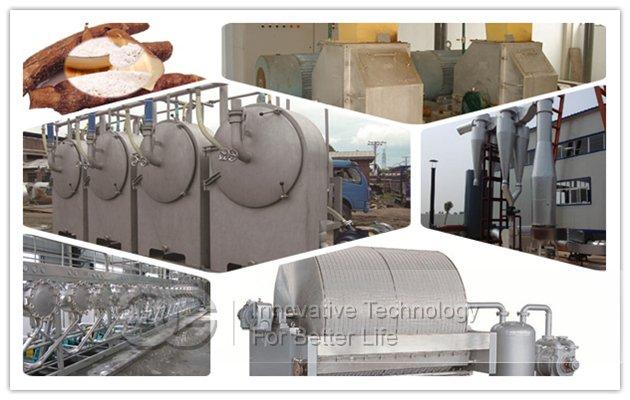 cassava starch extraction machine