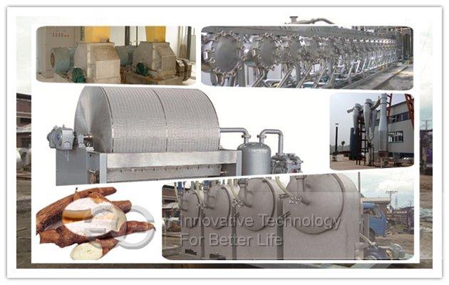 cassava starch processing machines