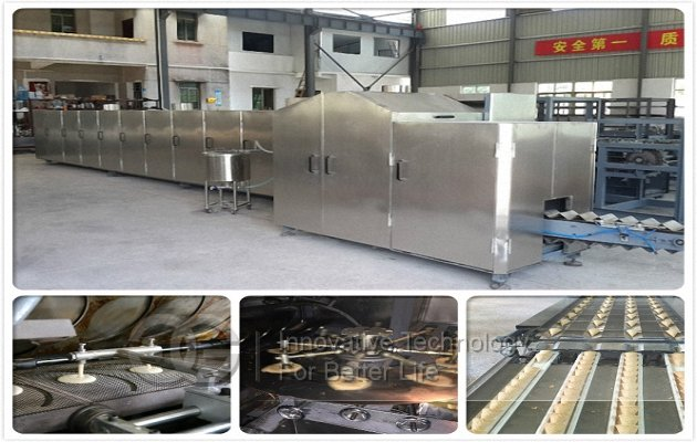 automatic crisp cone production line