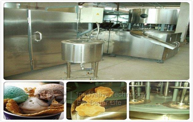 machine to make waffle cups