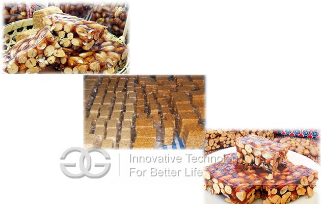 commercial peanut brittle equipment