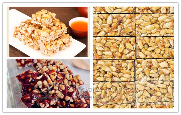 peanut brittle sweet machine