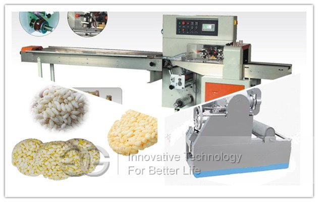 Puffed Rice Cake Product Line