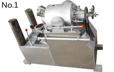 Rice air flow puffing machine