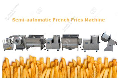 potato fries machine