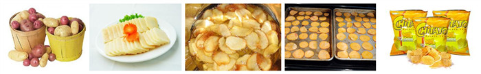 potato chips manufacturing process