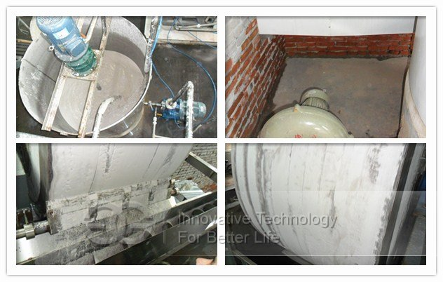 Lotus Root Starch Machine