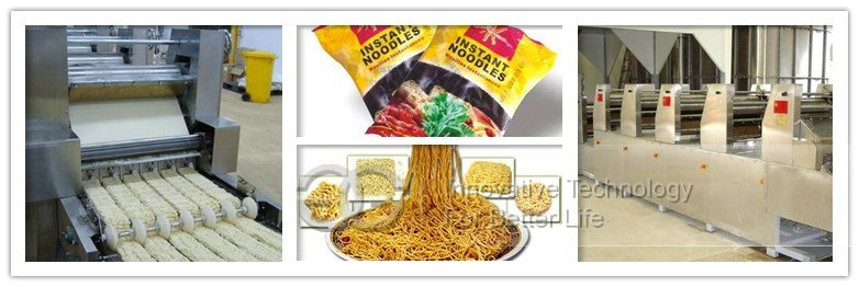 fried instant noodle machine