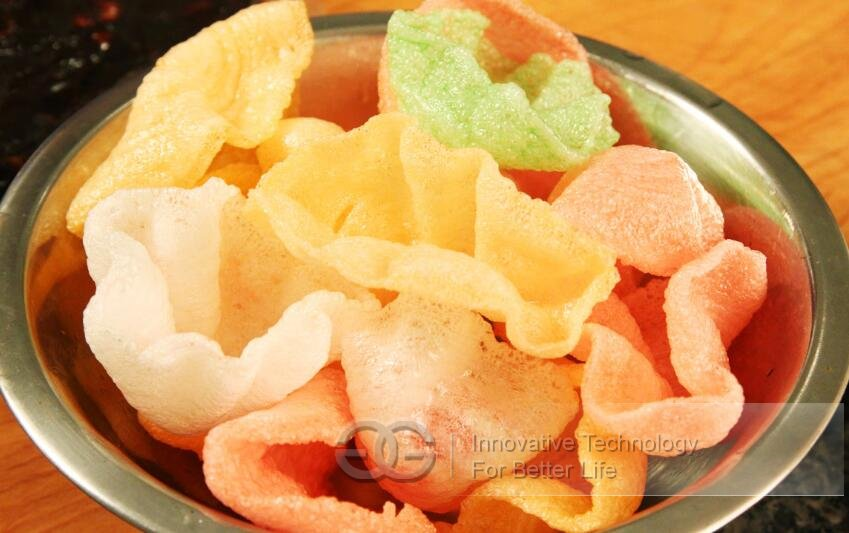 krupuk chips making machine