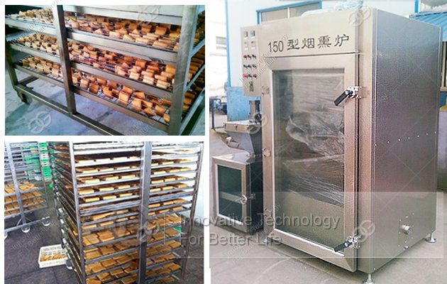 meat smoker oven machine