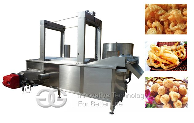 pork rinds fry machine