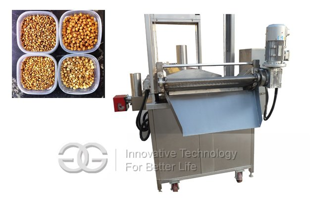 pork scratching fryer machine