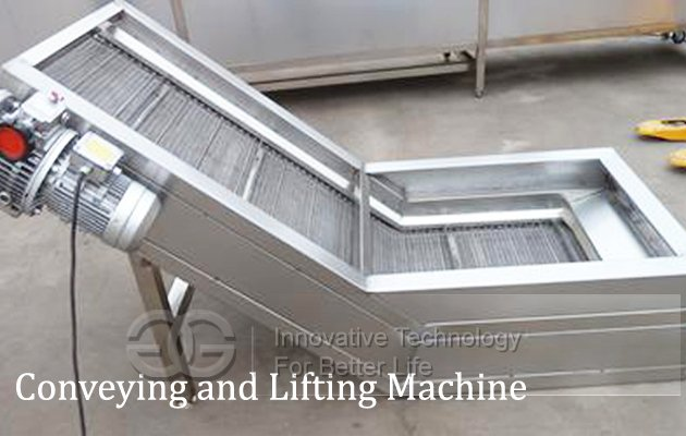 Conveying and Lifting Machine
