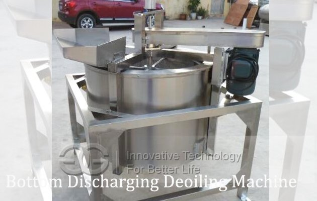 fried peanut Deoiling Machine