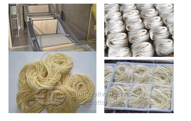 manual noodles production line