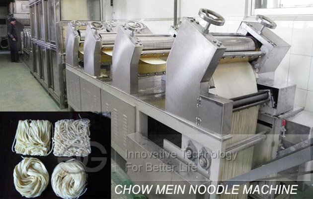 chowmein noodles processing line